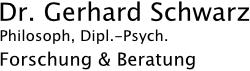Dr. Gerhard Schwarz | Philosoph, Dipl.-Psych. Logo
